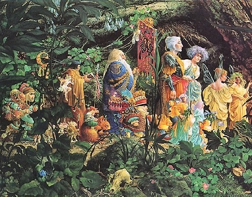 Painting by James C. Christensen