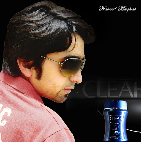 Pakistani photographer and model Naveed Mughal