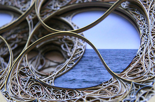 Paper Cut Art by American fine artist Eric Standley