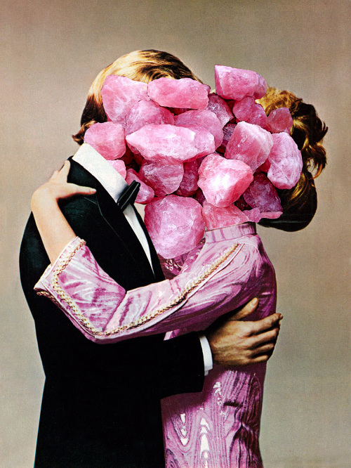 Rocky Start. From the series of collages 'Oh, L'amour'