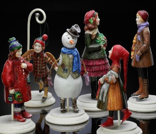 Porcelain miniatures by Marina
