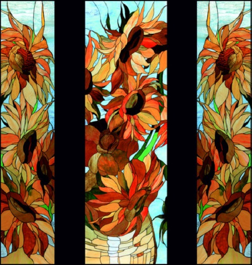 Stained glass art by Svetlana Mikhailova