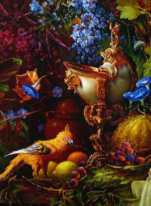 Still life painting by Alexey Golovin