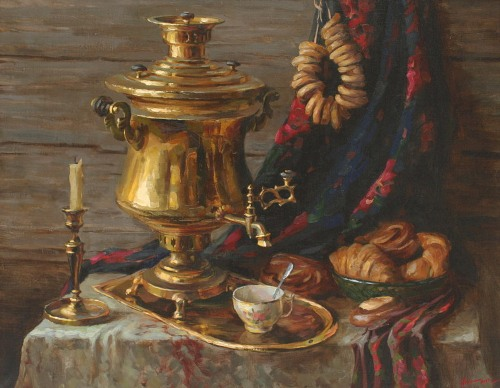 Still life with samovar