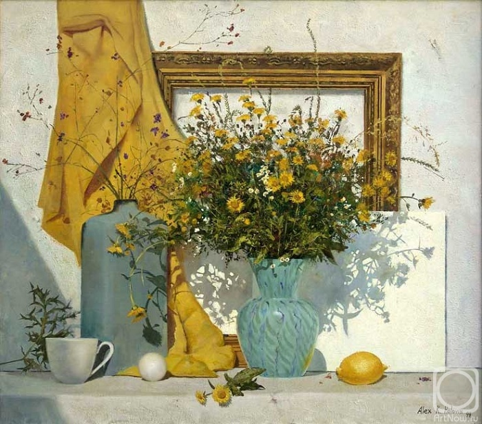 Sunny still life. 1999. Oil on canvas