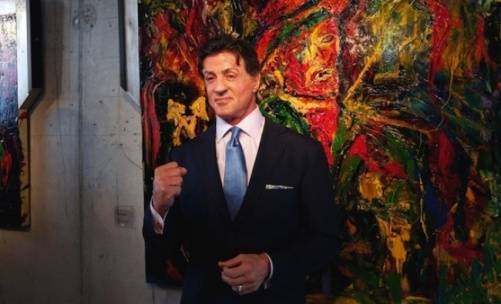 Sylvester Stallone. Famous NOT artists