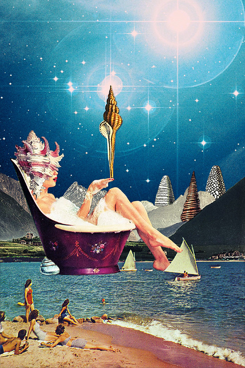 Surreal vintage collages by Eugenia Loli