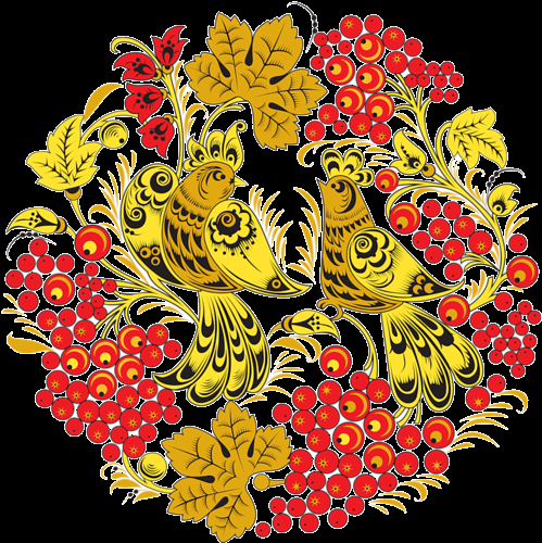 khokhloma ornament