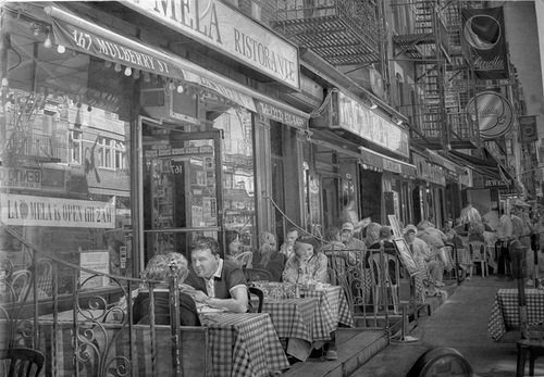 New York. Hyperrealistic pencil drawings by Paul Cadden