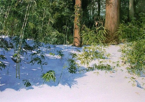 Abe Toshiyuki hyperrealistic watercolors