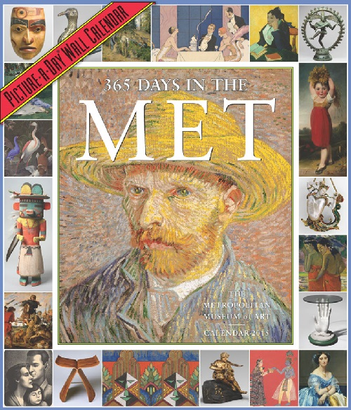 Art Gallery Desk Calendar 2015 The Metropolitan Art Museum