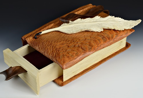 Holly Quill Book Box