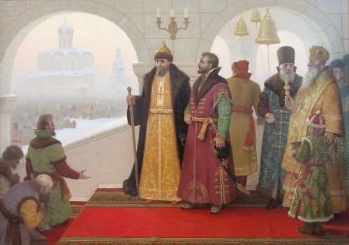 Ivan the Terrible. Painting by Viktor Tormosov