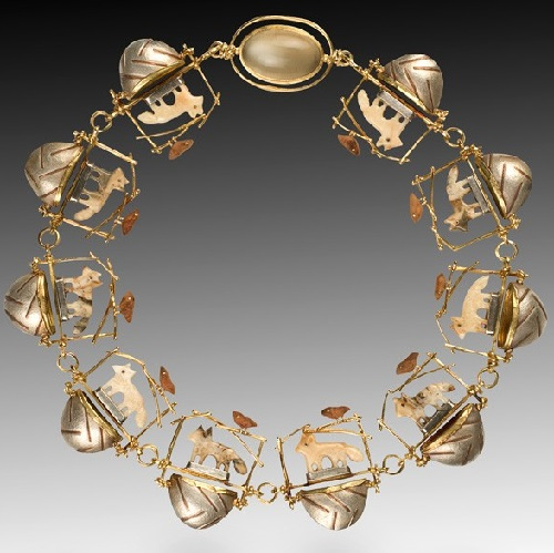 Jewelry art by Carolyn Morris Bach
