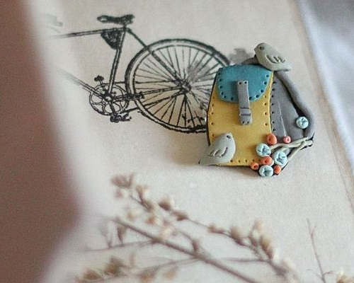 Memory of summer. Art brooches by Gulnara Zelinskaya