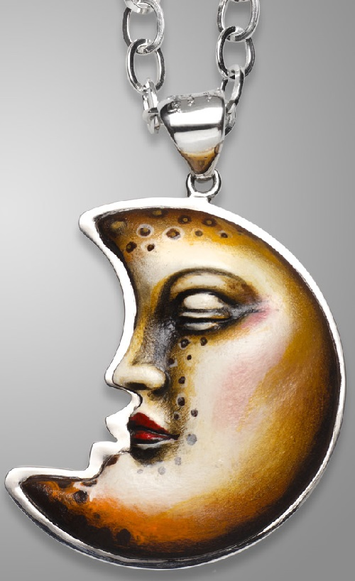 Surreal jewelry art by Sergio Bustamante