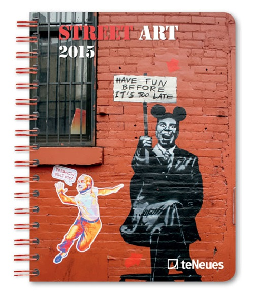 Street Art 2015 Engagement Calendar