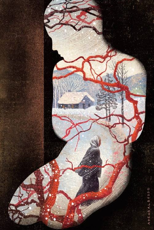 Le Kept, Magazine Middlebury.  Illustrateurs Anna et Elena Balbusso
