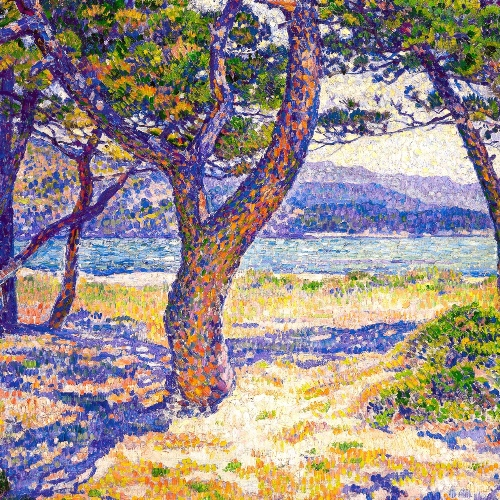 The Mediterranean at the Lavandou (1904)