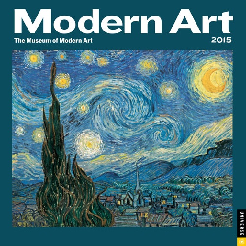 The Modern Art 2015 Wall Calendar