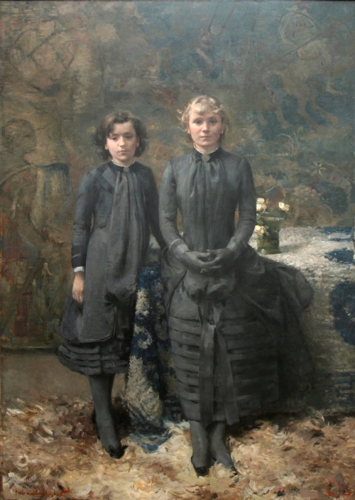 The sisters of the painter Schlobach, 1884