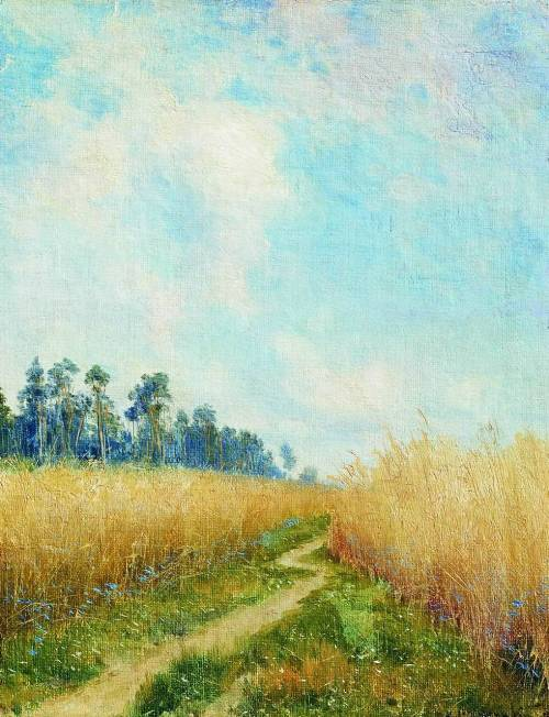 Track in the Rye, 1893