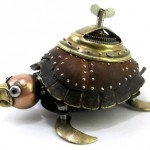 A Turtle with a key