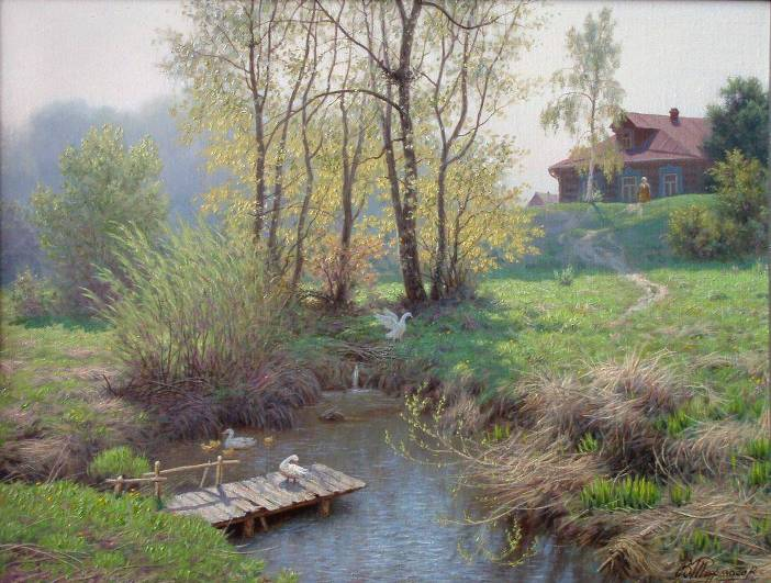 Warm spring. 2009. Oil on canvas