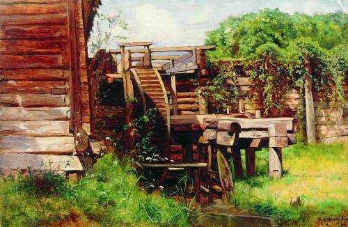Water mill. 1883