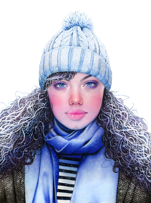 Winter. Illustrator Morgan Davidson