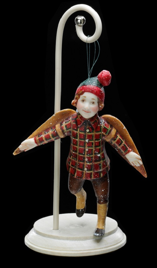A boy with wings. Alexandra collectible art dolls
