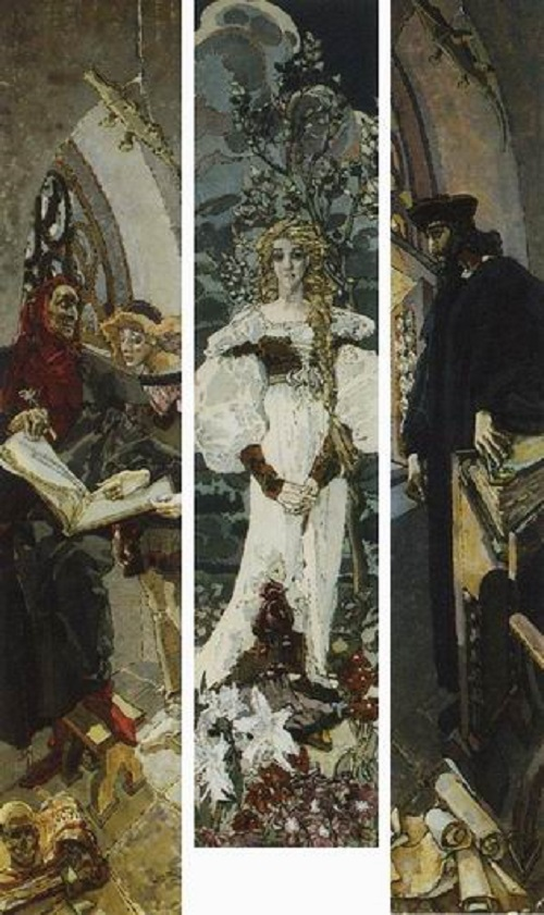 'Faust' Triptych. 1896