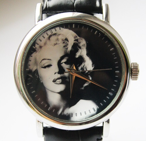 Marilyn Monroe. Designer's watches handmade by JK
