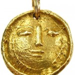 Gold Pendant by Pablo Picasso