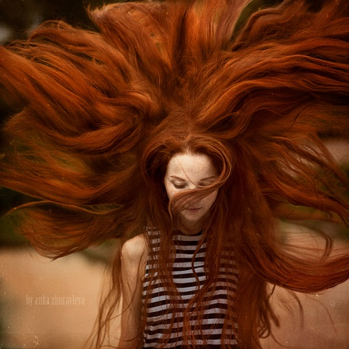 Ginger. Photo artist Anka Zhuravleva