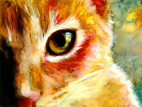 The art exhibition in Moscow Arena 'Cats in Manezh' (30 December 2014 to 20 January 2015)