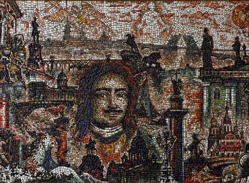 'The city on the Neva, mosaic trip to St. Petersburg'