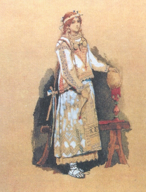 Snow Maiden by Viktor Vasnetsov 1899