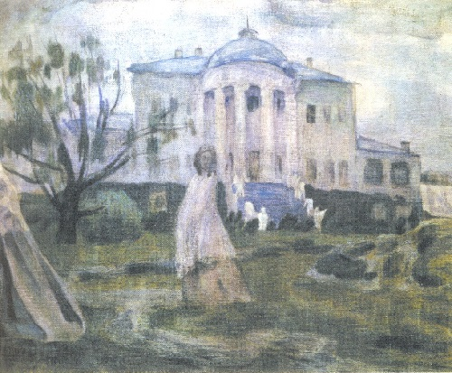 Ghosts in painting. Viktor Borisov-Musatov 'Ghosts', 1903