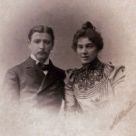 Vrubel with wife