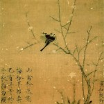 A bird in a tree. Emperor artist Zhao Ji