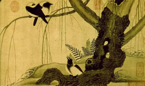 Zhao Ji, Hueytszun. Birds in a tree