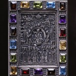 Unique precious relief icons