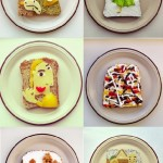 Red square and other masterpieces in Art Toast Project by Ida Skivenes