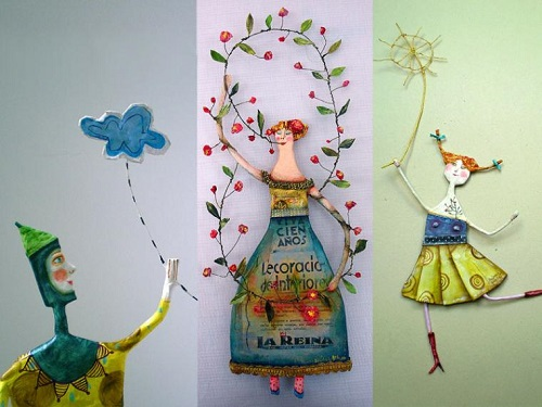 Paper art by Juliana Bollini