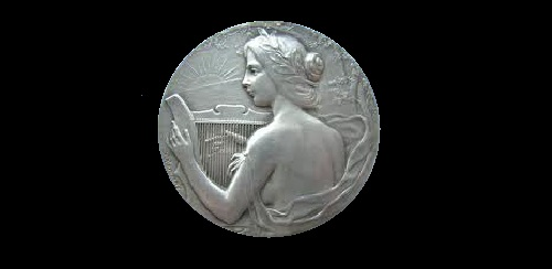 Commemorative Medal in honor of Music Festival in Villefranche in 1911 (Silver)