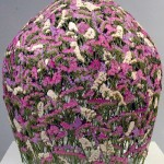 Wonderful dried flower sculpture by Spanish artist Ignacio Canales Aracil