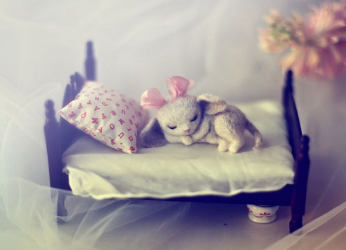 Felted miniature toys by Nadezhda Micheyeva