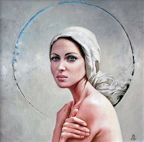 Female perfection in painting by Polish artist Karol Bak