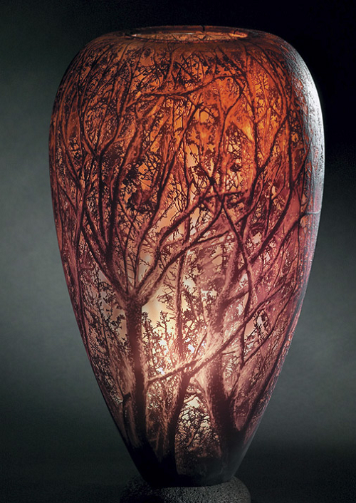 glass engraving art by Kevin Gordon
